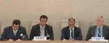 مجلس-حقوق-الإنسان - البحرین: مجلس حقوق الإنسان یتبنى الوثیقة الختامیة للاستعراض الدوری الشامل، والسلطات تنکر أی قمع لحقوق الإنسان