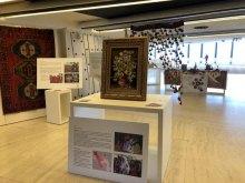 إقامة معرض الفنون الیدویّة للأقلیّات والقومیّات الایرانیّة بمنظمة الأمم المتحدة - Human Arts.Rights Exhibition (6)