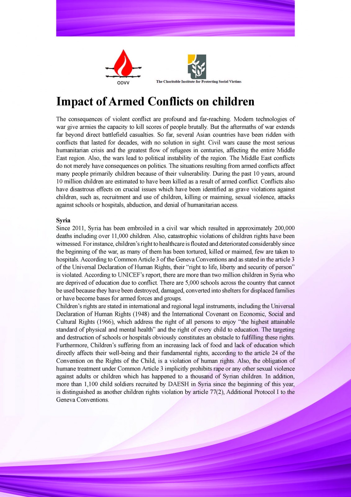 Armed Conflict Is the Most Serious Consequence of the Conflict in Sri Lanka