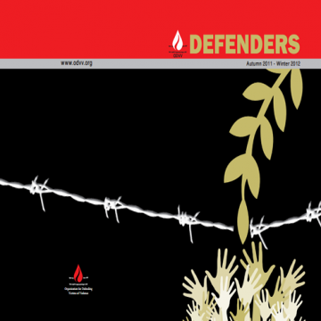 - Defenders Autumn 2011 Winter 2012