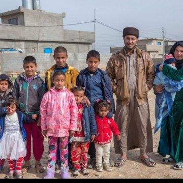 Iraq: 15,000 children flee west Mosul over past week as battle intensifies, says UNICEF