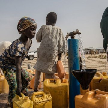 Children in countries facing famine threatened by lack of water, sanitation – UN agency