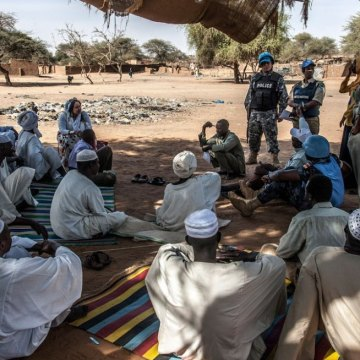 A 'different' Darfur has emerged since 2003; exit strategy for AU-UN mission being considered