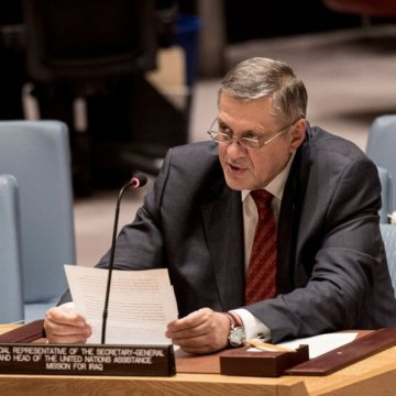 World must focus on dual task of defeating ISIL, rebuilding Iraq, UN envoy tells Security Council