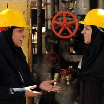 Iran's oil industry paves way for capable women