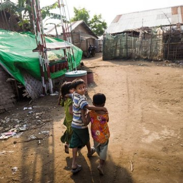 In Myanmar, UN refugee chief calls for solutions to displacement and exclusion