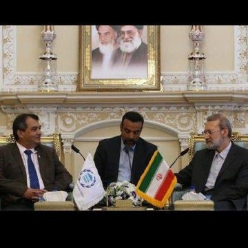 Iran always backs talks over military action: Larijani