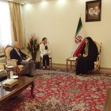 Iran, Japan discuss women's empowerment, civil rights