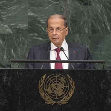Countering extremism in Middle East requires socio-economic measures, Lebanese leader tells UN