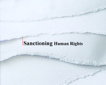 - Sanctioning Human Rights