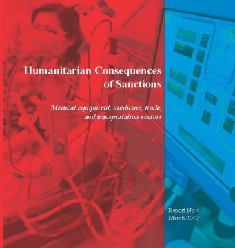 - Humanitarian Consequences of Sanctions
