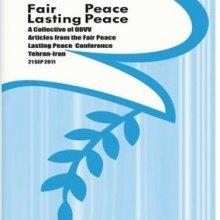 Fair peace lasting peace - Fair peace lasting peace