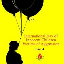 The ODVV to Commemorate the International Day of Innocent Children Victims of Aggression
