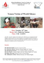 Active participation of the Organization for Defending Victim of Violence in the 29th session of Human Rights Council - Yemen_Side_Event_23-06pdf