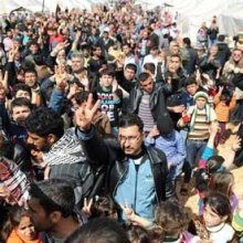 Deliberate Arson in Refugees Temporary Shelter in Germany