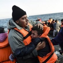 refugee - 18 refugees drown in Aegean Sea boat tragedy