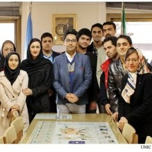 UNIC-Iran - Finding UN Information workshop for students of Human Rights