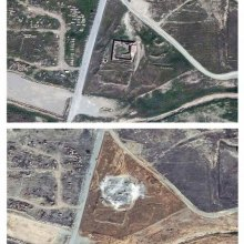 Isis razes to ground the oldest Christian monastery in Iraq, satellite images show