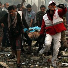 violence - UN: Yemeni Officials Indicate Over 140 Killed in Airstrike