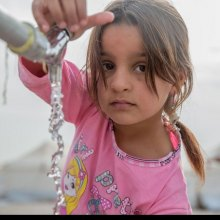 Nearly half of children in Mosul now cut off from clean water as conflict intensifies