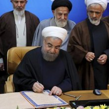 charter - Rouhani pushing ahead with milestone rights bill