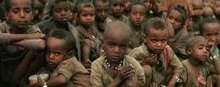 Human-Rights-Violations - children at imminent risk of death because of famine