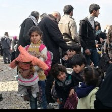 flee - Relief operations in western Mosul reaching 'breaking point' as civilians flee hunger, fighting – UN