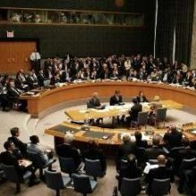 United-States - UNSC holds emergency meeting on US missile attack in Syria