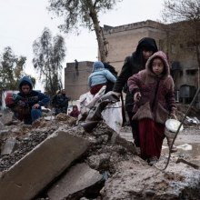 OCHA - UN relief workers concerned about civilians in Mosul threatened by Iraqi forces, ISIL