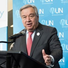 Antonio-Guterres - With Africa in spotlight at G7 summit, Secretary-General Guterres urges investment in youth