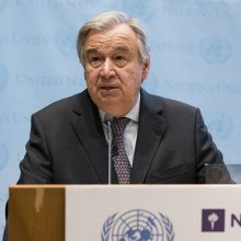 Antonio-Guterres - Climate action 'a necessity and an opportunity,' says UN chief, urging world to rally behind Paris accord