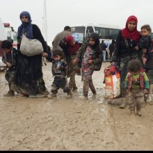 women - Iraq: UN refugee agency sounds alarm for more support as fighting continues in Mosul