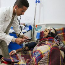 UNICEF - Yemen's children 'have suffered enough;' UNICEF official warns of cholera rise, malnutrition