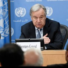 Antonio-Guterres - Heading to Uganda for 'solidarity summit,' UN chief marks World Refugee Day with calls for action