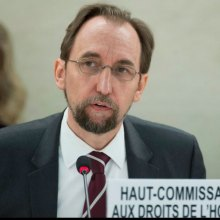 UN rights chief decries 'unacceptable attack' on Al Jazeera and other media - Zeid