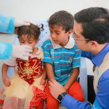 children - Rainy season worsens cholera crisis in Yemen; UN agencies deliver clean water, food