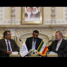 dialogue - Iran always backs talks over military action: Larijani