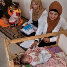 WHO - Iraq launches UN-supported action plan to save lives of mothers and newborns