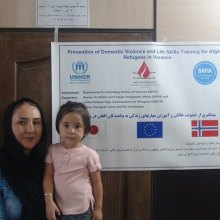 Afghan-Refugees - Prevention of Domestic Violence and Life Skills Education Project
