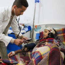 Cholera - Yemen's cholera epidemic surpasses half-million suspected cases, UN agency says