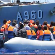 Refugees - UN rights experts warn new EU policy on boat rescues will cause more people to drown