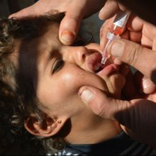 conflict - More than 350,000 children vaccinated against polio in hard to reach areas of Syria – UN