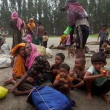 children - UN-supported campaign to immunize 150,000 Rohingya children against deadly diseases