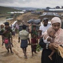 UN scaling up assistance as number of Rohingya refugees grows to over 400,000 - Rohingya