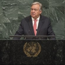 Antonio-Guterres - Repair 'world in pieces' and create 'world at peace,' UN chief Guterres urges global leaders