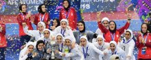 women - Iran holds AFC Women's Futsal Championship title for the second time