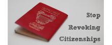 Terrorism - Revoking citizenship of 138 people: 'a mockery of justice' in Bahrain