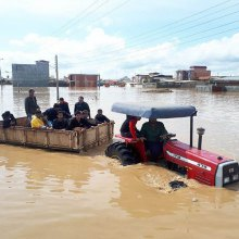 Volunteer Counseling Services in flood Stricken Iran - Flood