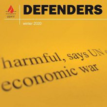 - Winter 2020 Issue of Defenders Published