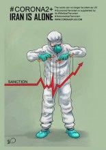 Iran struggling with sanctions & corona virus - covid 6